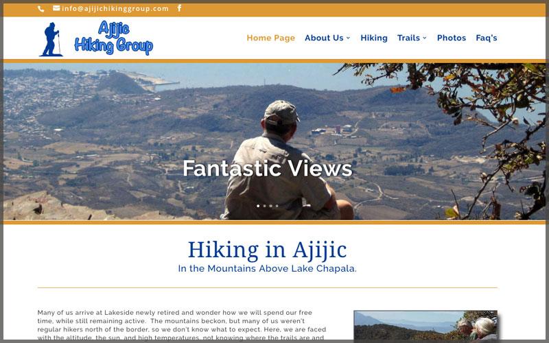 Home page of www.ajijichikinggroup.com website.